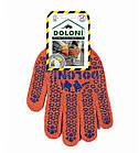 Рабочие перчатки ХБ с ПВХ 10 класс Doloni 526, фото 2