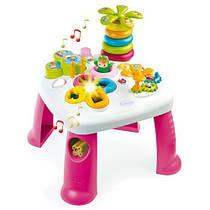 Столик игровой развивающий Цветочек Table d'Activités Cotoons Smoby 211170
