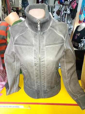 Куртка женская из экокожи OS, фото 2