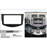 Рамка AWM 781-07-050 Toyota RAV 4 2006-2012 (под штатную магнитолу Toyota)