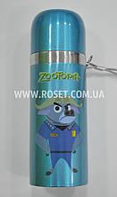 Вакуумний термос з клапаном дитячий - Зоотрополис (Зверополис)