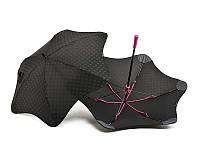 Противоштормовой зонт-трость женский механический BLUNT (БЛАНТ) Bl-mini-plus-pink