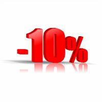Оптовая скидка - 10%