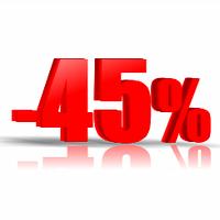 Оптовая скидка - 45%