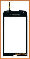 Сенсор (тачскрин) Samsung I8000 Omnia II Black Original