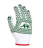 Рабочие перчатки ХБ с двусторонним ПВХ 7 класс Doloni 580