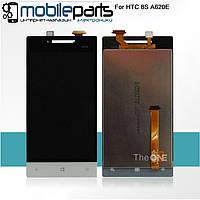Оригинальный  дисплей (модуль) + сенсор (тачскрин) для HTC Windows Phone 8s | A620e (белый)