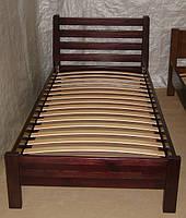 """Кровать односпальная """"Масу"""". Массив - сосна, ольха"""