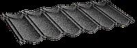 Металочерепица композитная 10 Classic black (0,45)  1-тайл.