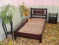 """Кровать односпальная """"Магия Дерева"""". Массив - сосна, ольха, дуб."""