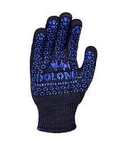 Рабочие перчатки трикотажные термостойкие с двухсторонним ПВХ 10 класс Doloni 648