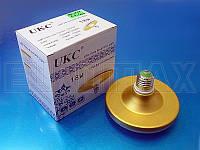 Лампочка LED E27 18W плоская круглая 1201