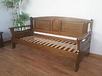 """Кровать односпальная """"Орфей"""". Массив - сосна, ольха, дуб."""