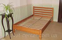 """Кровать полуторная """"Масу"""". Массив - сосна, ольха, дуб."""
