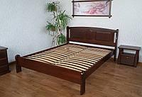 """Кровать полуторная """"Афина"""". Массив - сосна, ольха, дуб."""