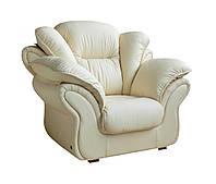 """Стильный диван """"Ginger"""" (Джинджер). (225 см) Кресло (130 см), Не раскладной, натуральная кожа"""