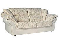 """Стильный кожаный диван """"Ginger"""" (Джинджер) Трехместный (225 см), Американская раскладушка, ткань, Современный"""