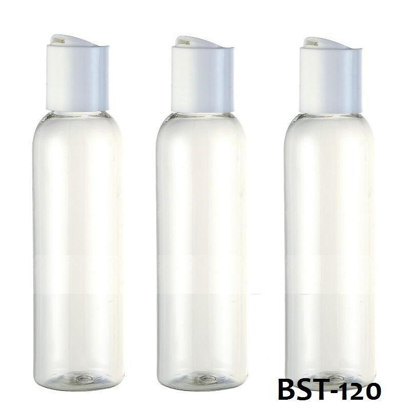 Бутылочка белая пластмассовая 120 мл