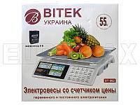 Весы электронные торговые BITEK 55кг YZ-982S