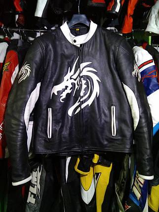Мотокуртка бу кожа Dragon, фото 2