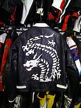 Мотокуртка бу кожа Dragon, фото 3