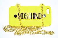 Накладка - чехол на IPhone сумочка Moschino