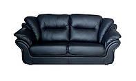 """Стильный кожаный диван """"Ginger"""" (Джинджер) Трехместный (225 см), Французская раскладушка, экокожа"""