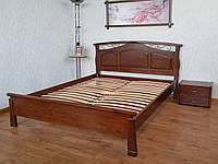 """Кровать деревянная """"Марго"""" массив - сосна, ольха, дуб."""