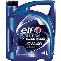 Моторное масло Elf EVOLUTION 700 Turbo Diesel 10w40 4л.