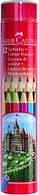 Цветные карандаши в металическом тубусе арт.115826