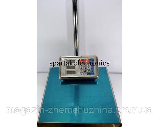 Весы торговые электронные ACS 100 KG, 30*40 с металлической головой!Опт, фото 2