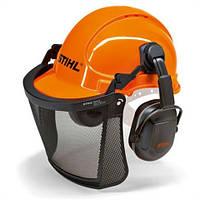 Защитный шлем Stihl ECONOMY с сеткой и наушниками