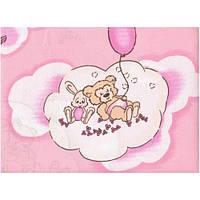 Бязь Lux Pink Bears