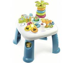 Столик игровой развивающий Цветочек Table d'Activités Cotoons Smoby 211169