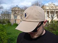 Кепка Cap by Ralph Lauren Поло коричневая (бейсболка)