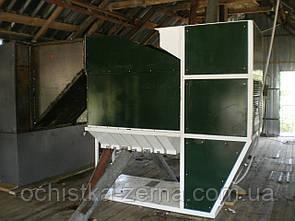 Машина для очистки зерна ИСМ-50, Калибровка семян.