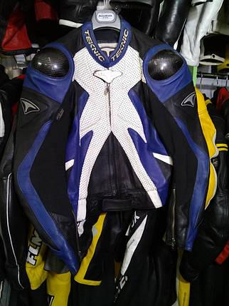 Мотокуртка бу кожа Teknic, фото 2