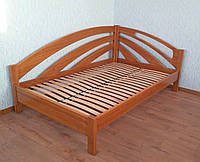 """Кровать """"Радуга - 3"""". Массив дерева - сосна, ольха, дуб."""