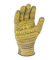 Рабочие перчатки ХБ с ПВХ 10 класс Doloni 4242