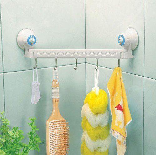 Крючки и вешалки для ванной комнаты, кухни