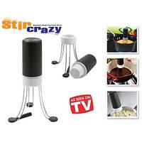 ТОП ВЫБОР! Мешалка - венчик для соусов Stir Crazy - 5000362 - электровенчик, венчик для кухни, мешалка для соуса, кухонная мешалка, электромешалка