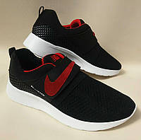 Кожаные спортивные кроссовки Nike из турецкой сетки и подклада