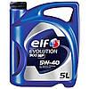 Моторное масло Elf EVOLUTION 900 NF 5w40 5л.