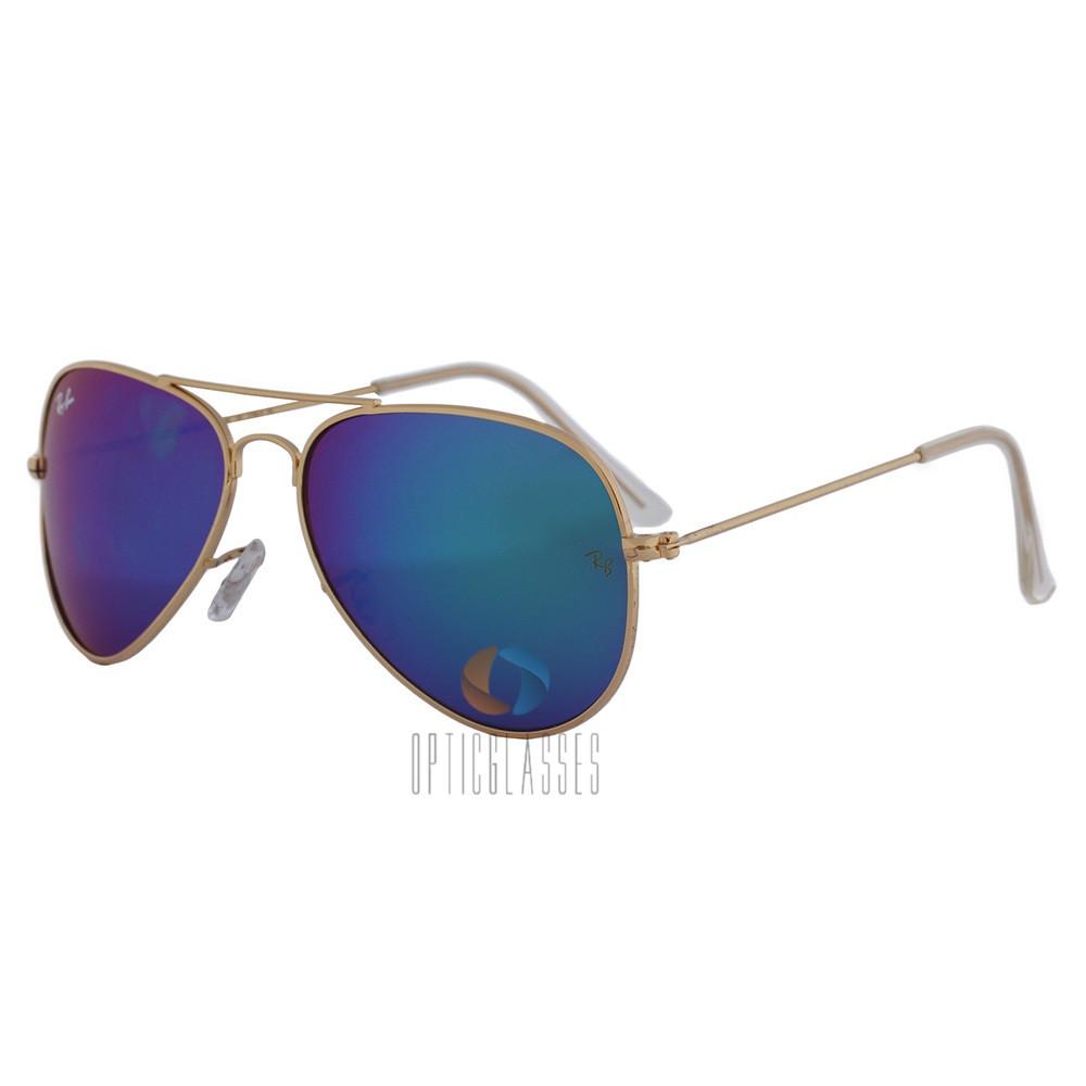 Очки от солнца Ray Ban 3026 Aviator (blue-gr)