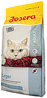 JOSERA  Leger для малоактивных и  стерилизованных кошек  (2 кг и 10 кг)