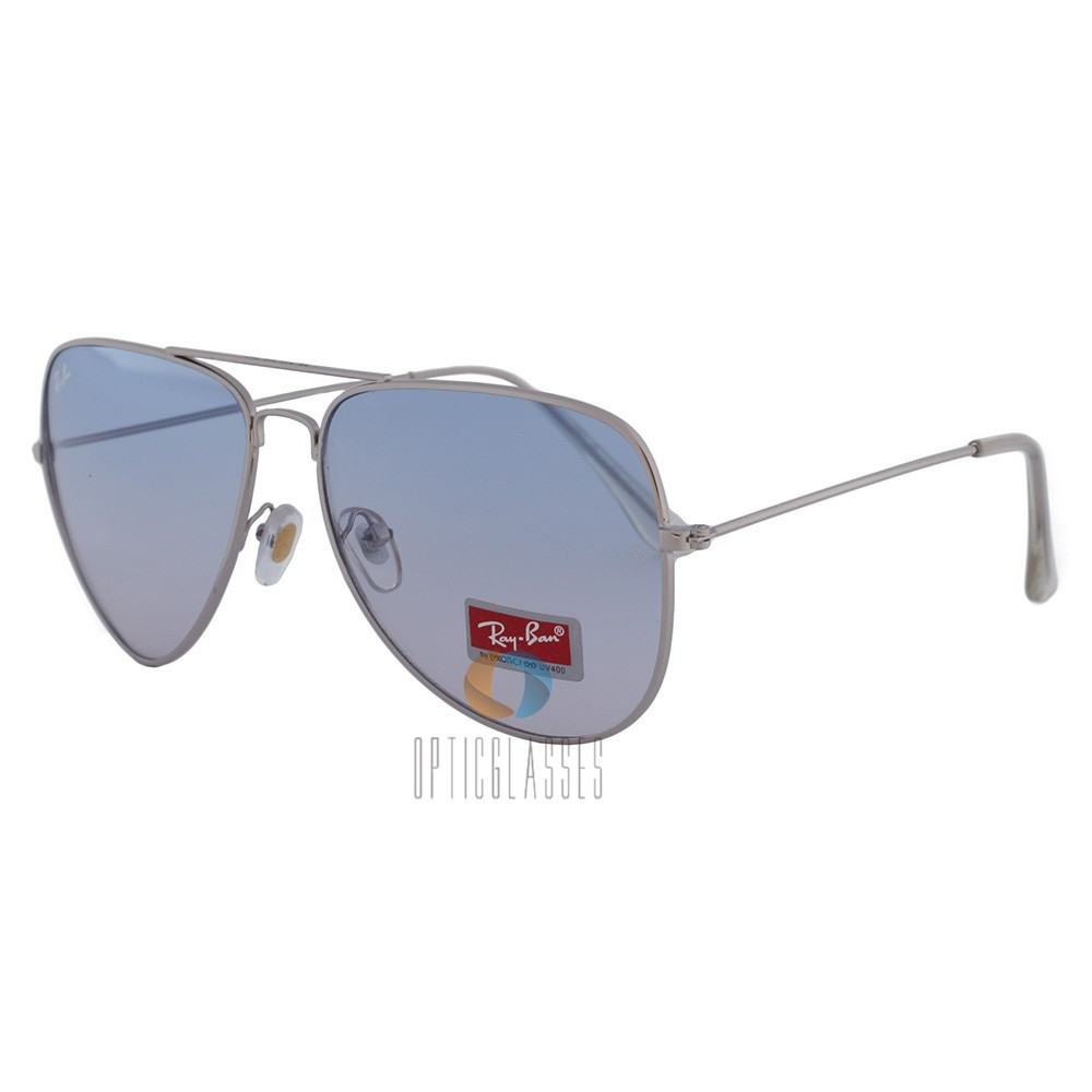 Очки Ray Ban 3026 Aviator blue gradient