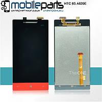 Оригинальный  Дисплей (Модуль) + Сенсор (Тачскрин) для HTC Windows Phone 8s | A620e (Красный)