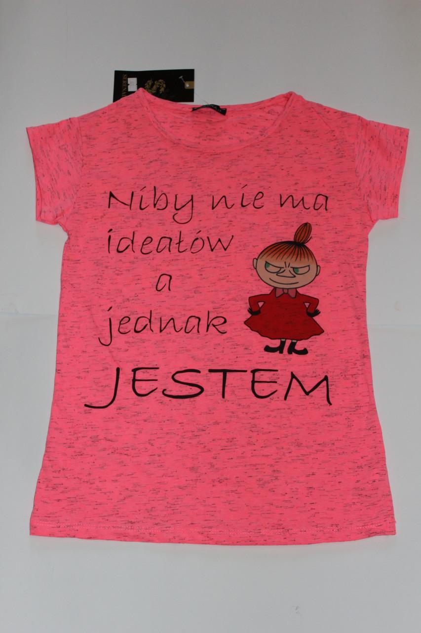 Женская футболка Девушка Размер 44 - 46