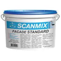 Scanmix Facade STANDART M90 - акриловая краска  для внутр. и наружных работ 10л.