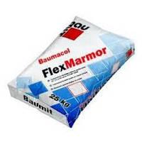 Baumit FlexMarmor - клеевая смесь для приклеивания мрамора (белая), 25кг